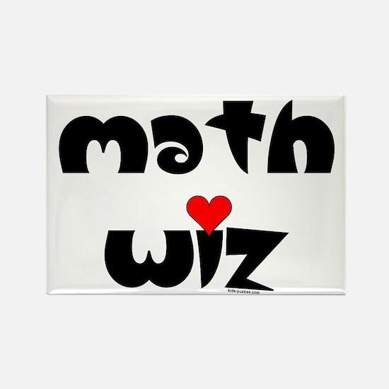 Math wiz rectangle magnet