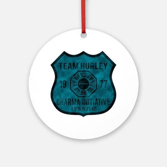 Team Hurley - Dharma 1977 2 Ornament (Round)