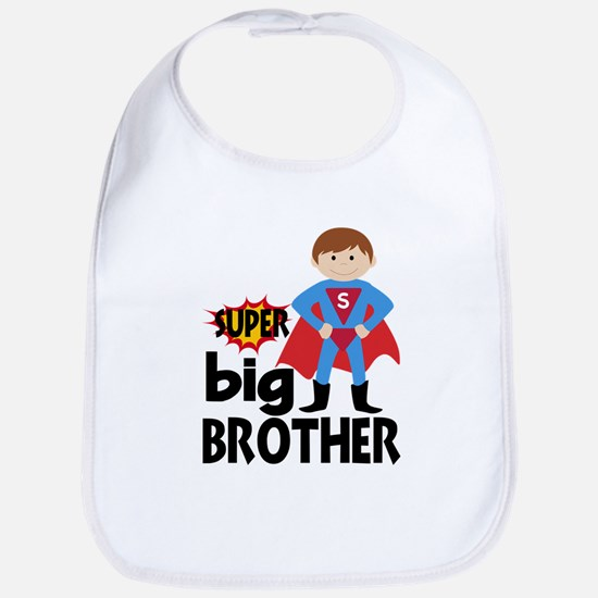Big Brother Superhero Baby Bib