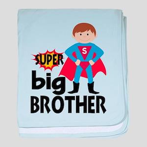 Big Brother Superhero baby blanket