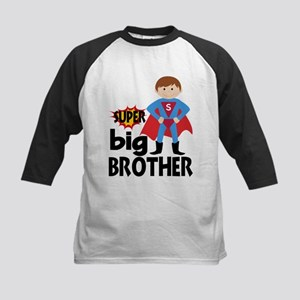Big Brother Superhero Baseball Jersey