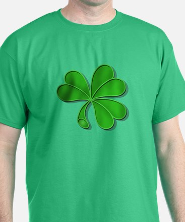 green shamrock T-Shirt