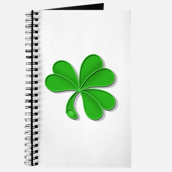 green shamrock Journal