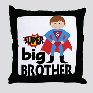Big Brother Superhero Throw Pillow