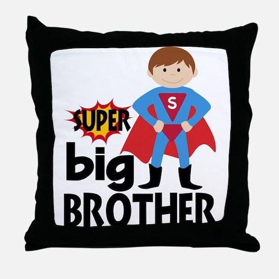 Big Brother Superhero Throw Pillow