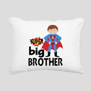 Big Brother Superhero Rectangular Canvas Pillow
