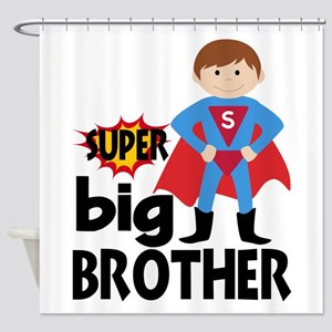 Big Brother Superhero Shower Curtain