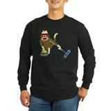 Curling Long Sleeve Dark T-Shirts