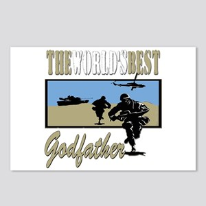 Military Godfather Postcards (Package of 8)
