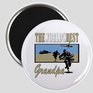 Military Grandpa Magnet
