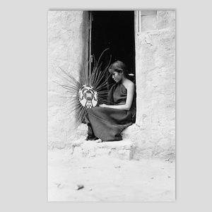 Hopi Basket Weaver Postcards (Package of 8)