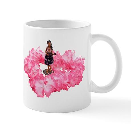 Hawaiian Dancer and Lei Mug