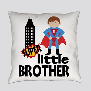 Little Brother Superhero Everyday Pillow