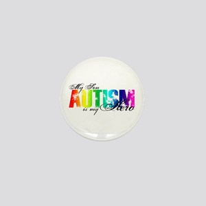 My Son My Hero - Autism Mini Button