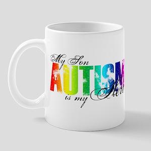 My Son My Hero - Autism Mug
