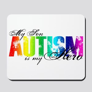 My Son My Hero - Autism Mousepad
