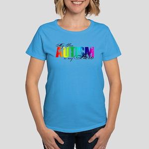 My Son My Hero - Autism Women's Dark T-Shirt