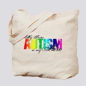 My Sister My Hero - Autism Tote Bag
