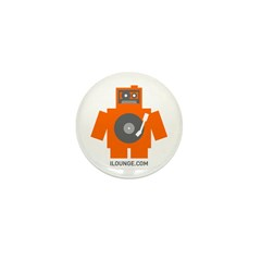 Robot DJ Mini Button (10 pack)