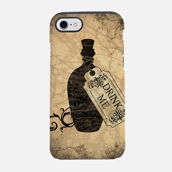 drink-me-bottle_square.jpg iPhone 7 Tough Case