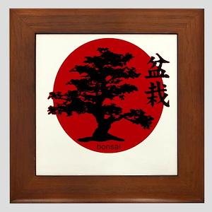 Bonsai Framed Tile