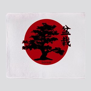 Bonsai Throw Blanket