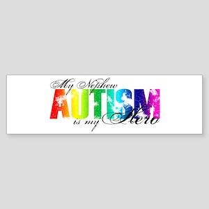 My Nephew My Hero - Autism Sticker (Bumper)