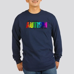 My Nephew My Hero - Autism Long Sleeve Dark T-Shir