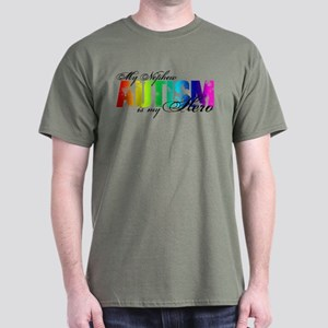 My Nephew My Hero - Autism Dark T-Shirt