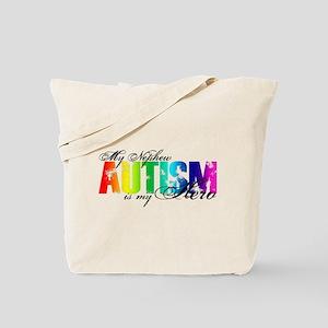 My Nephew My Hero - Autism Tote Bag