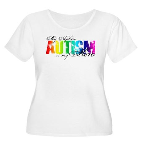 My Nephew My Hero - Autism Women's Plus Size Scoop