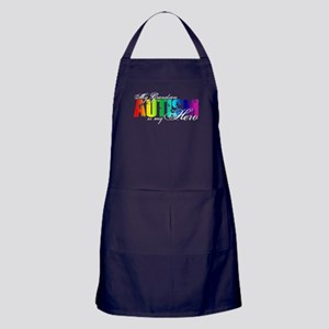 My Grandson My Hero - Autism Apron (dark)
