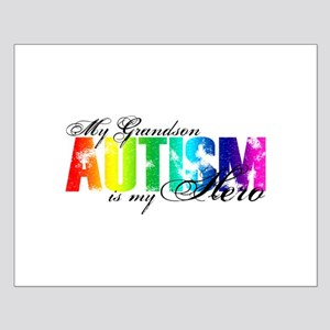 My Grandson My Hero - Autism Small Poster