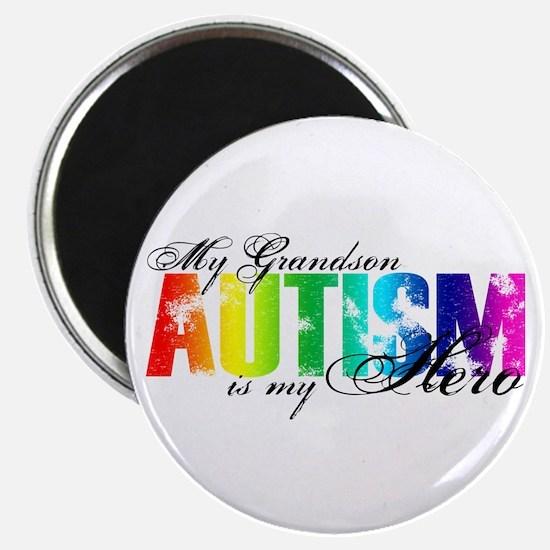 My Grandson My Hero - Autism Magnet