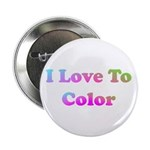 I Love to Color Button