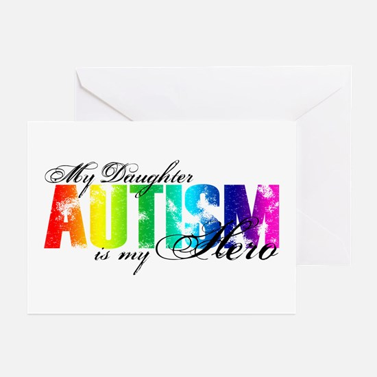 My Daughter My Hero - Autism Greeting Cards (Pk of