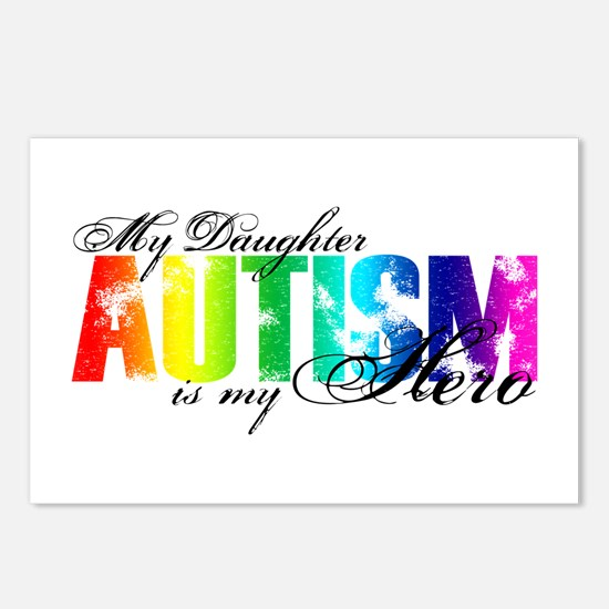 My Daughter My Hero - Autism Postcards (Package of