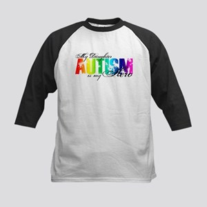 My Daughter My Hero - Autism Kids Baseball Jersey