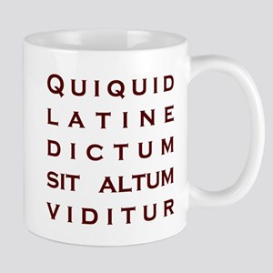 Anything Sounds Profound In L Mug