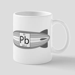 Lead Blimp. Zeppelin. Mug