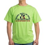 Defend the Constitution Green T-Shirt