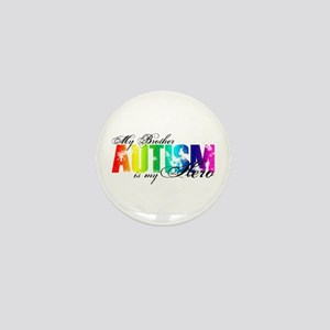 My Brother My Hero - Autism Mini Button