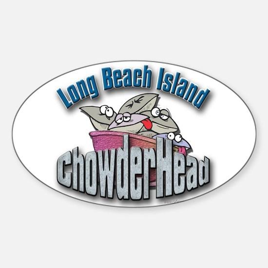 LBI Chowderhead... Oval Decal
