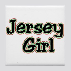 jersey shore girls Tile Coaster