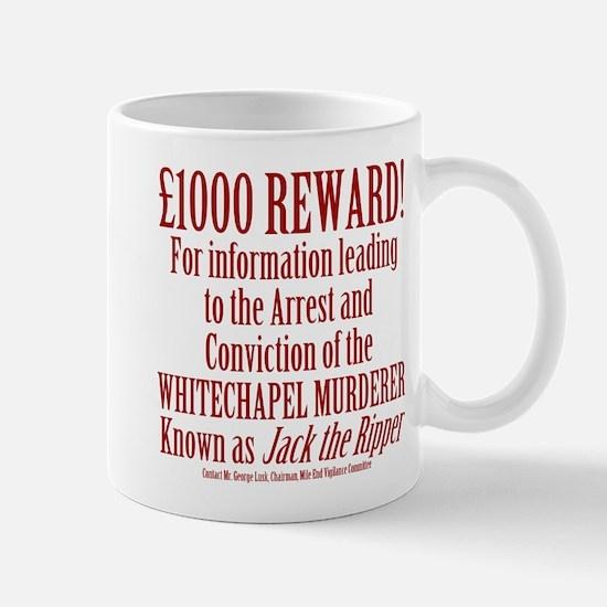 Jack the Ripper Reward Mug