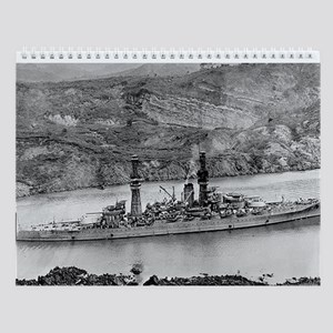 USS Arizona Ship's Image Wall Calendar