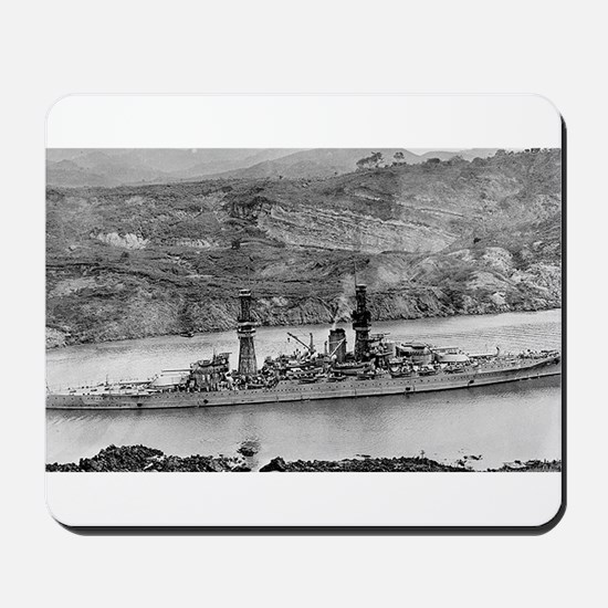 USS Arizona Ship's Image Mousepad