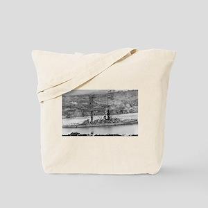 USS Arizona Ship's Image Tote Bag