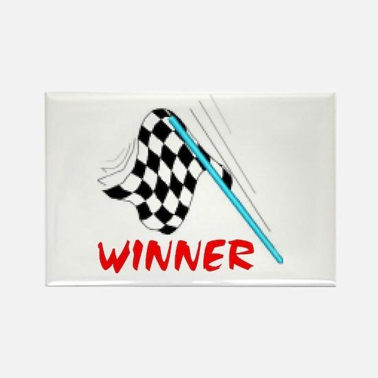 RACE TRACKER Rectangle Magnet (10 pack)