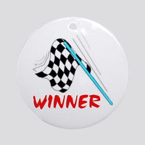 RACE TRACKER Ornament (Round)